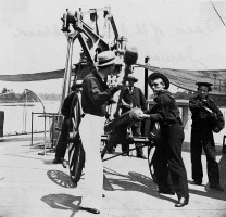 Loading canon on the USS Hunchback